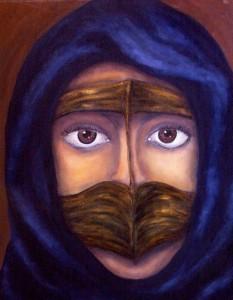 Beduinenfrau