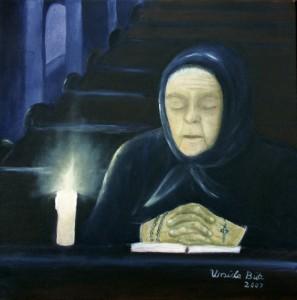 Alte im Gebet